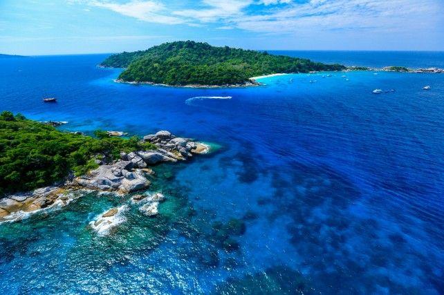 Similan Islands Day Tour (Pick Up from Phuket)
