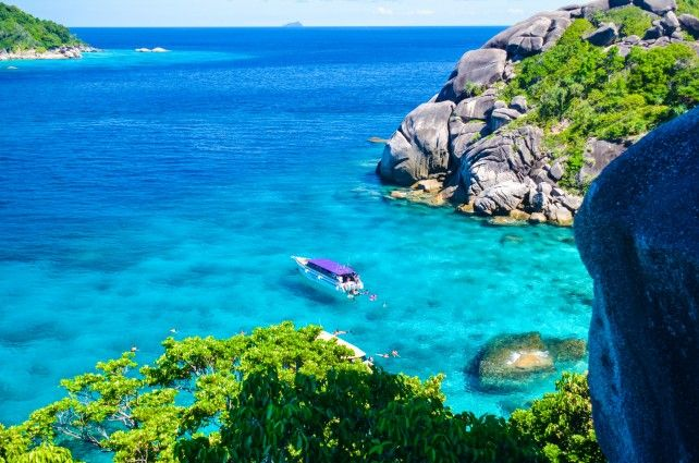Similan Islands Day Tour (Pick Up from Phuket)