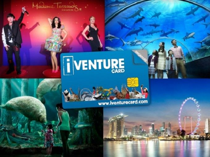harga tiket Singapore Flexi Attractions Pass