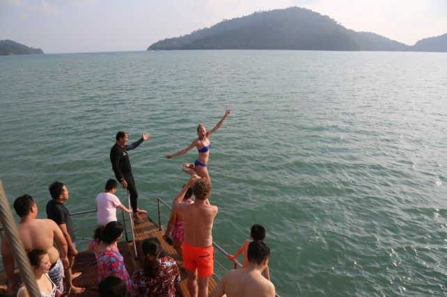 Sunset Dinner Cruise with BBQ Dinner & Open Bar in Langkawi