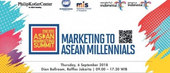 harga tiket The 4th ASEAN Marketing Summit 2018