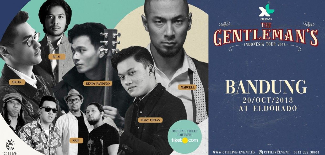 The Gentleman's Indonesia Tour Bandung 2018