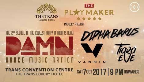 harga tiket D.A.M.N - Dance Music Nation Bandung 2017