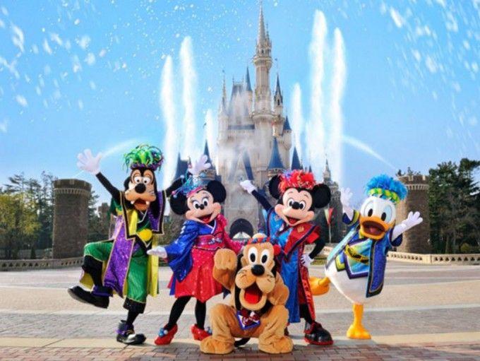 harga tiket Tokyo Disneyland OR Disneysea