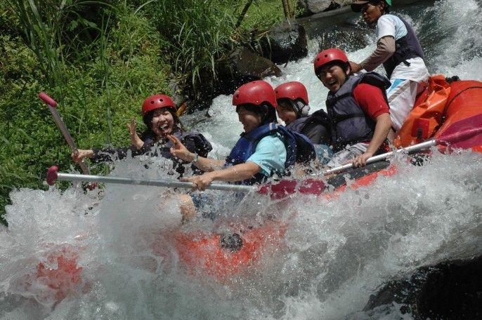 harga tiket White Water Rafting at Telaga Waja