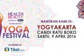 Yoga Festival Yogyakarta 2016