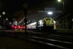 Senja Utama Semarang masuk stasiun Pekalongan