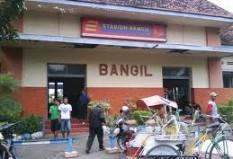 Objek Wisata Stasiun Bangil