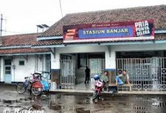 Objek Wisata Stasiun Banjar