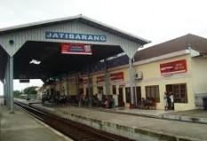 Objek Wisata Stasiun Jatibarang