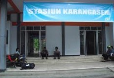Objek Wisata Stasiun Karangasem